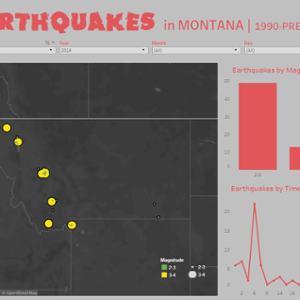 Earthquakes in Montana