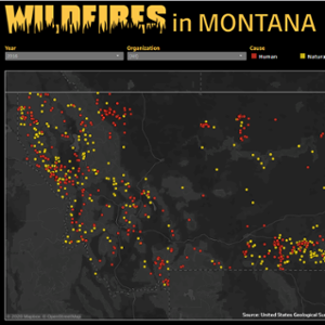 Wildfires in Montana | 1980-2016